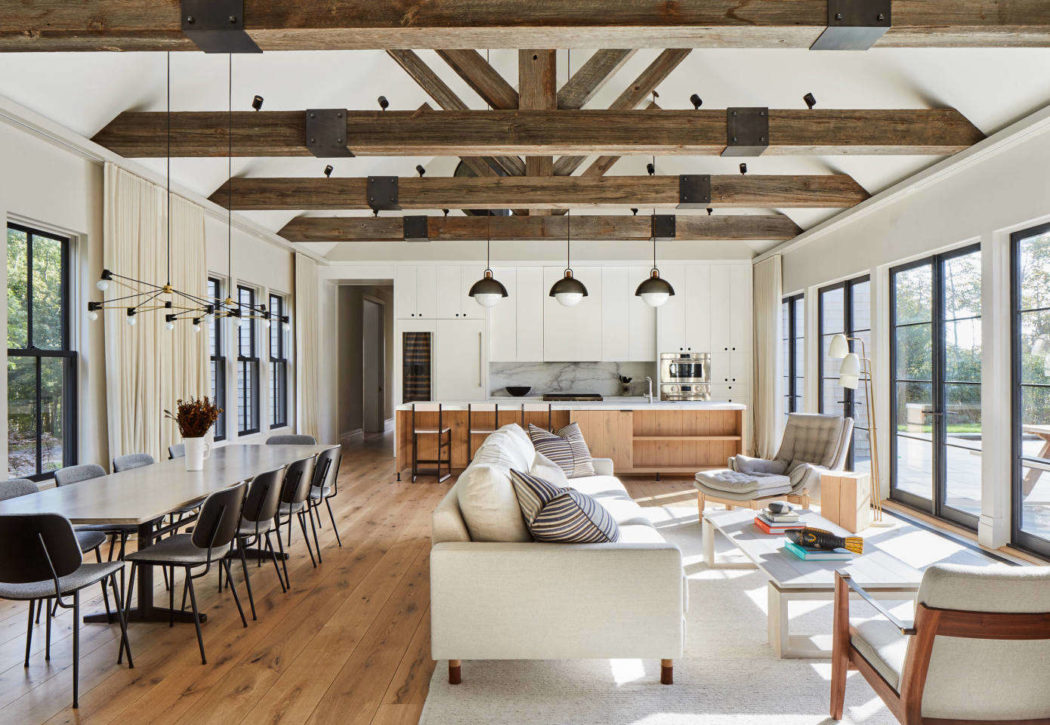Modern Barn by Kevin O'Sullivan + Associates