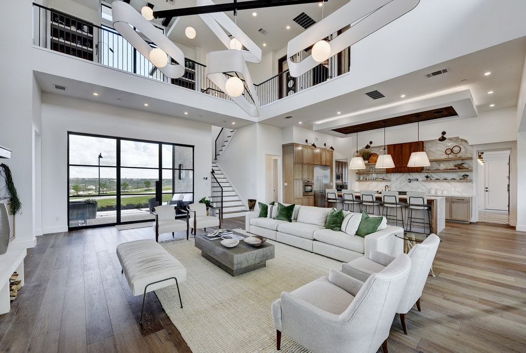 Contemporary Hill Country Hacienda by Melisa Clement
