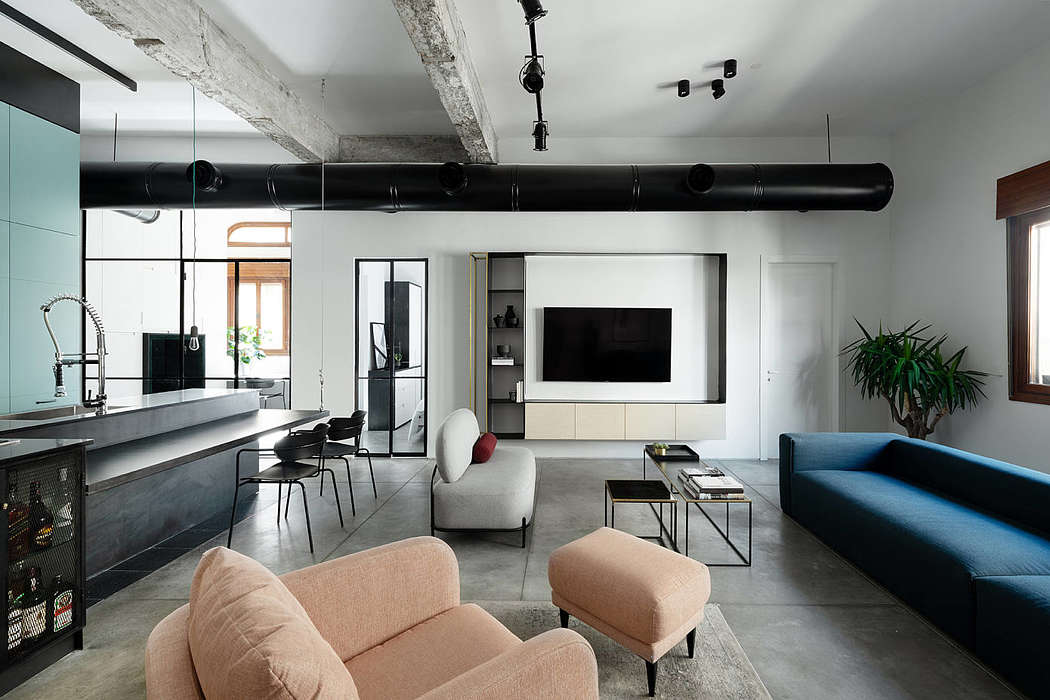 Apartment AX3 by Eitan Cohen