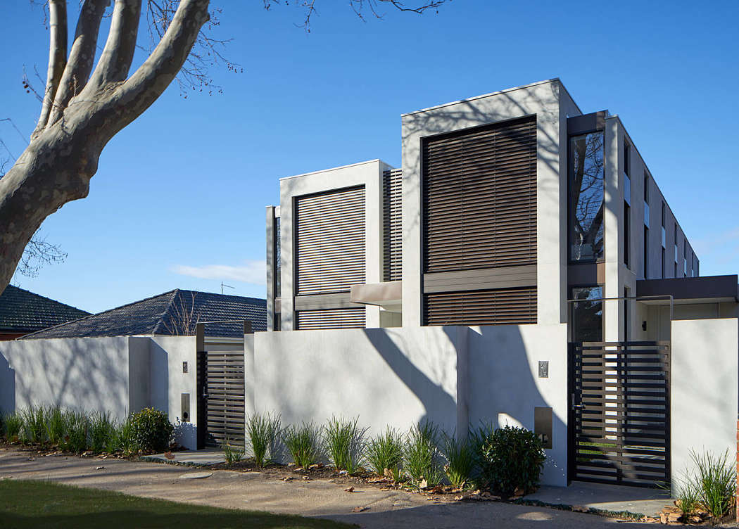 Cressy Street Townhouses by Megowan Architectural