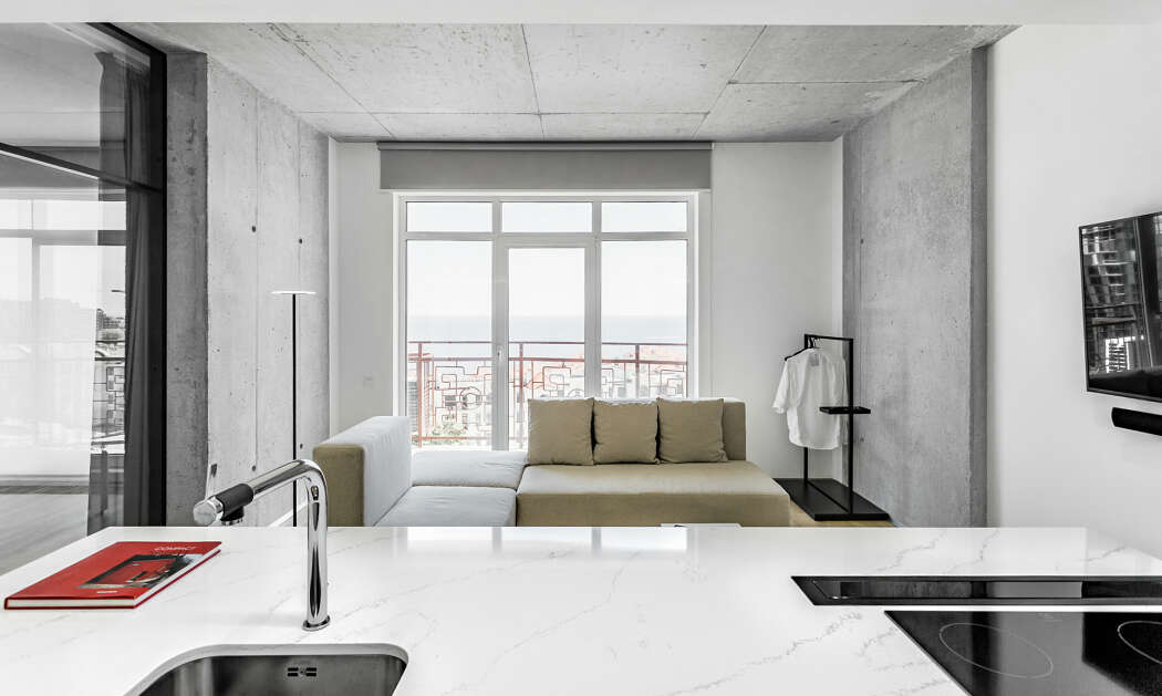 Apartment in Odessa by M3 Architects