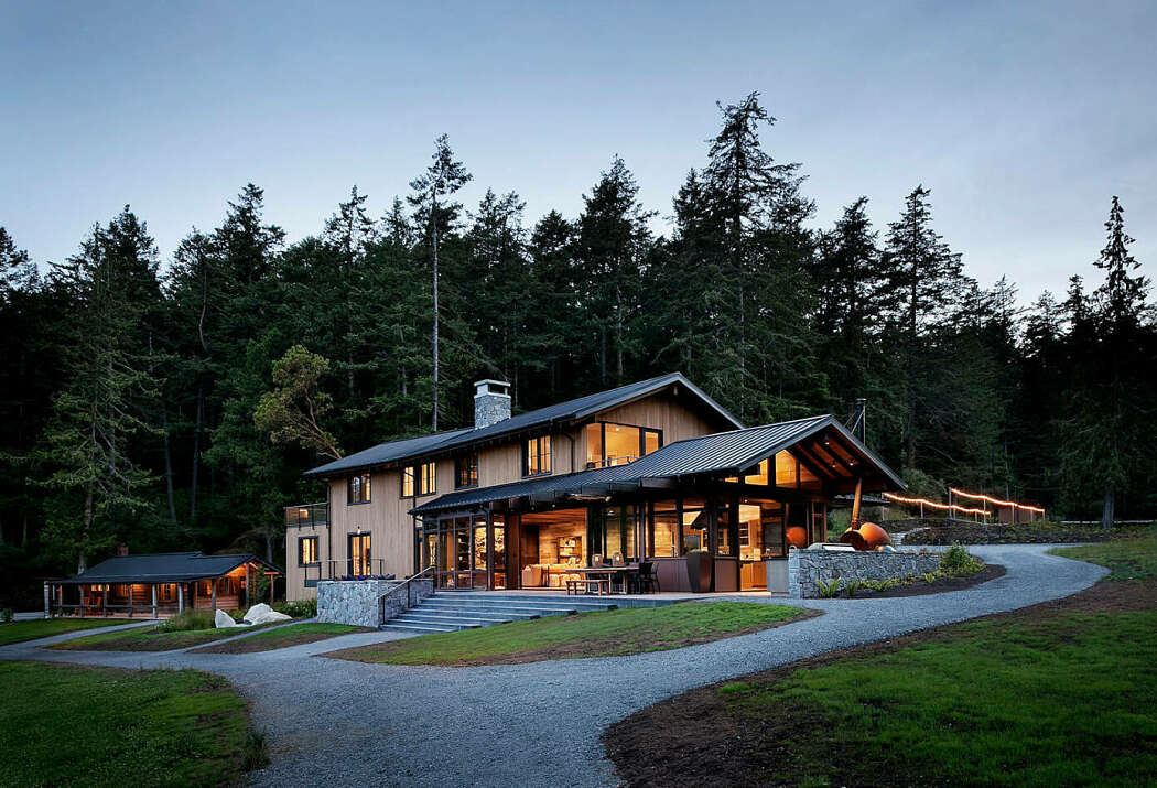 San Juan Island Residence by NB Design Group