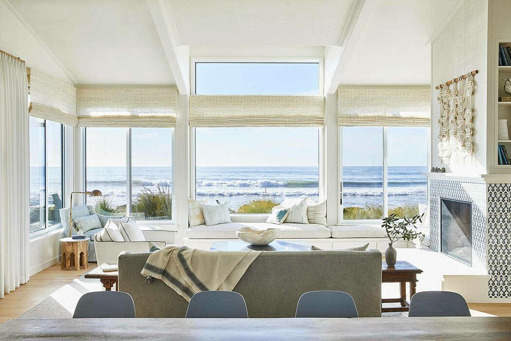 Stinson Beach House by Lauren Nelson Design