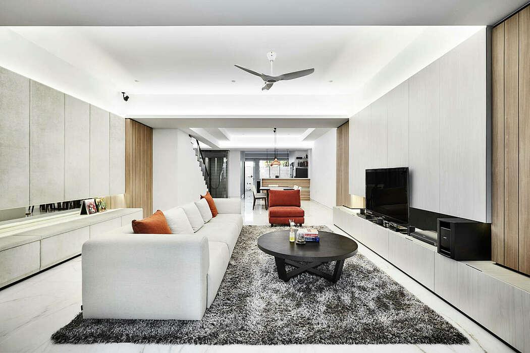 Home in Singapore by akiHAUS Design Studio