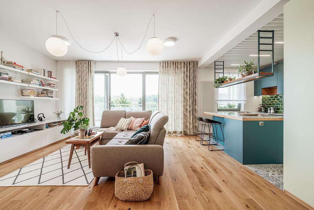 Apartment in Wroc?aw by Marmur Studio