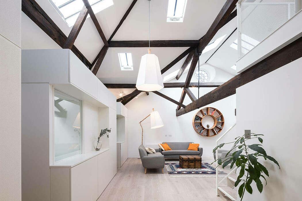 Loft in Shoreditch by Round Robin Studio