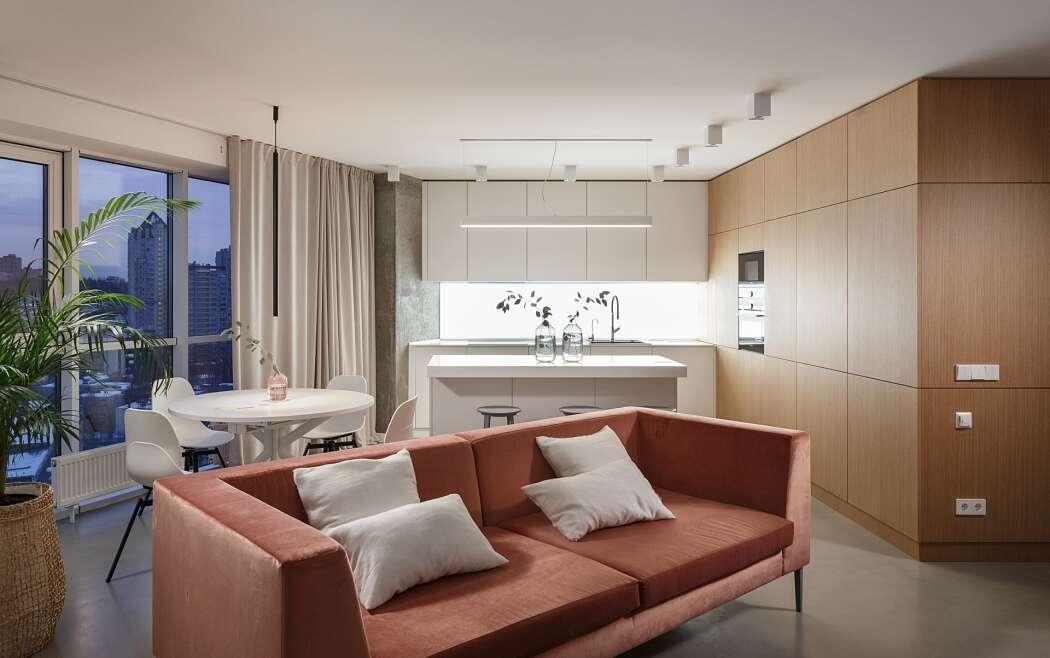 Apartment in Kiev by SVOYA Studio