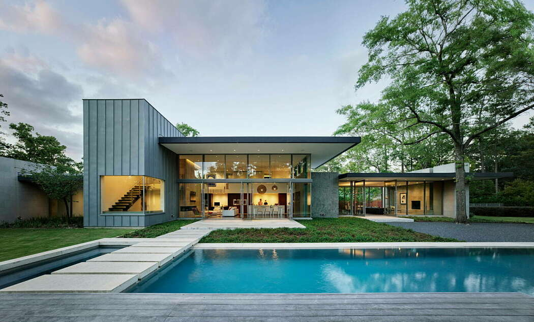 Kuhlman Road House by Ehrlich Yanai Rhee Chaney Architects
