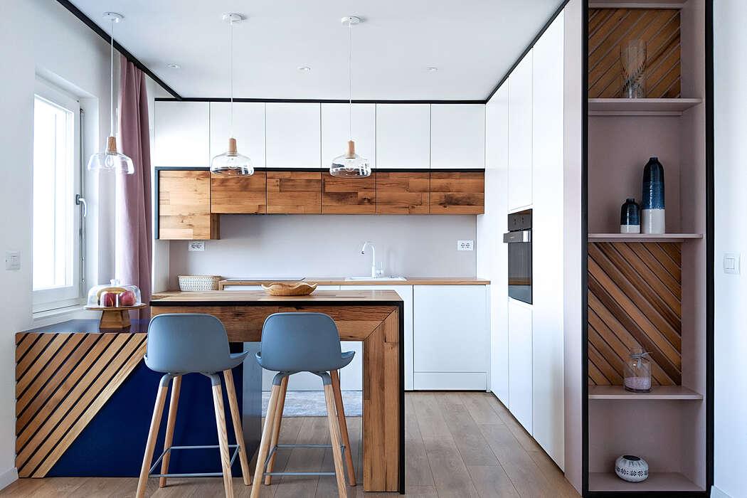 Modern Apartment in Pristine by Muza Creative