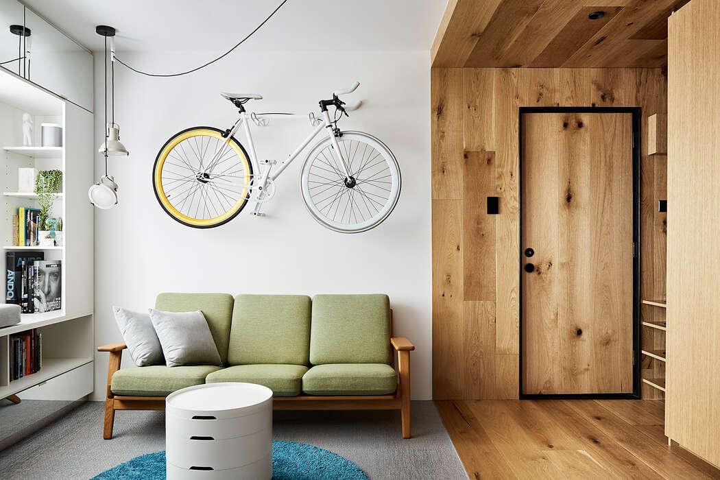 Apartment Conversion by tsai Design