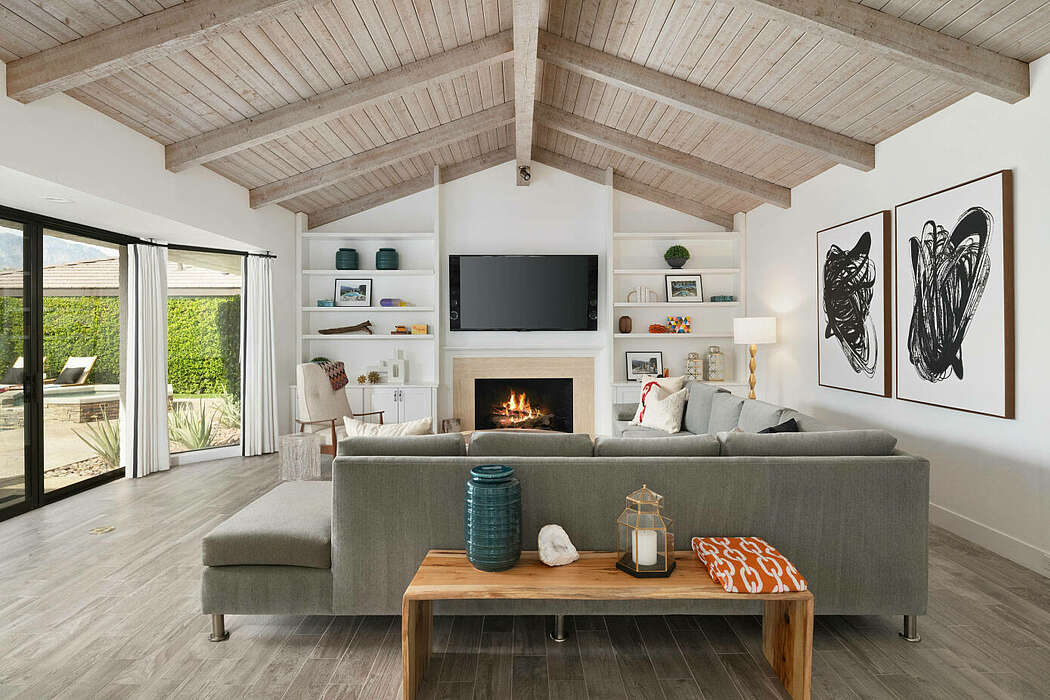 Rancho Mirage Home by Hue Design