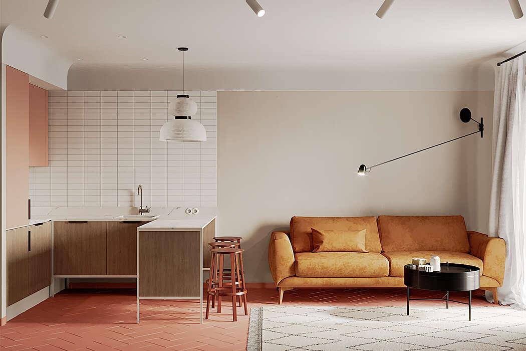 Small Apartment by Lena Budantseva