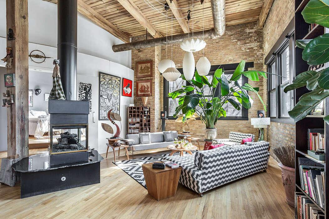 Timber Loft by Chi Renovation & Design
