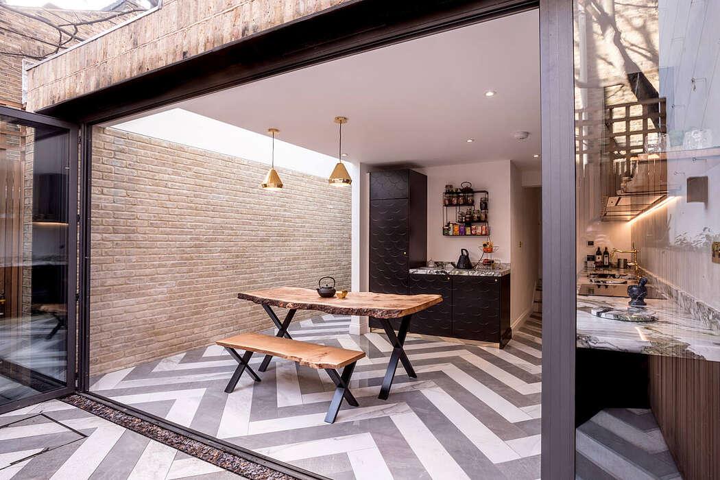 Pattern House by Aleksa Studio
