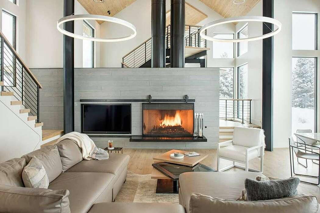 Bridger Canyon Residence by Faure Halvorsen Architects