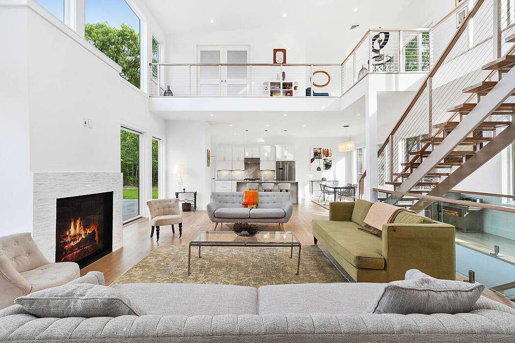 East Hampton Modern by Alexim Builders