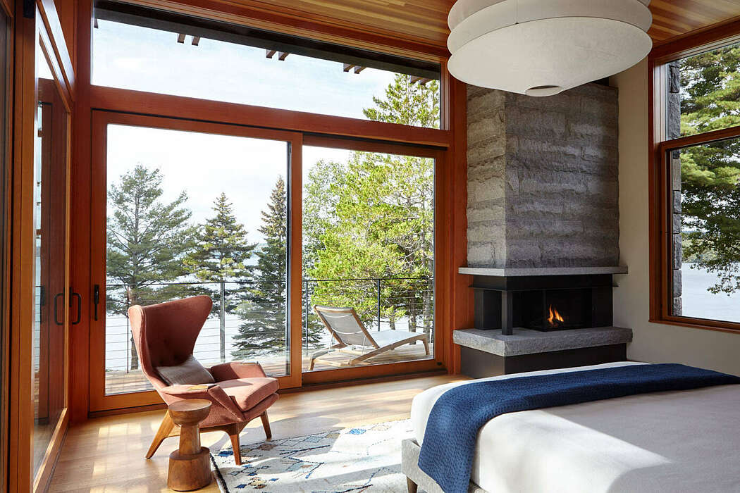 Lake Point House by Marcus Gleysteen Architects