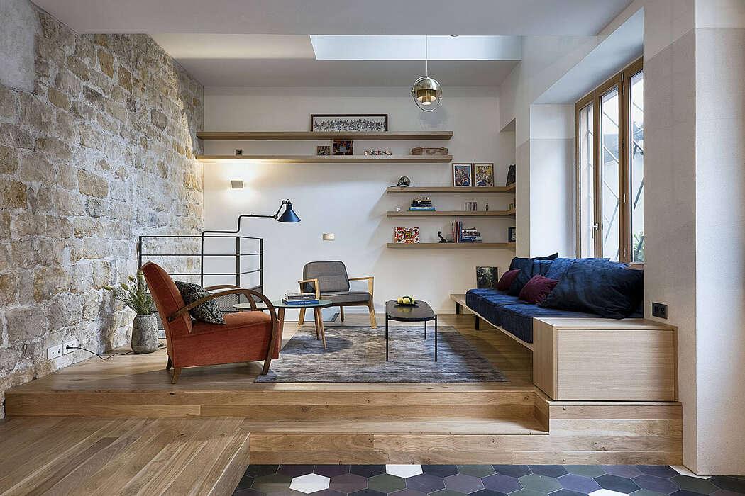 House in Paris by Alia Bengana Architect