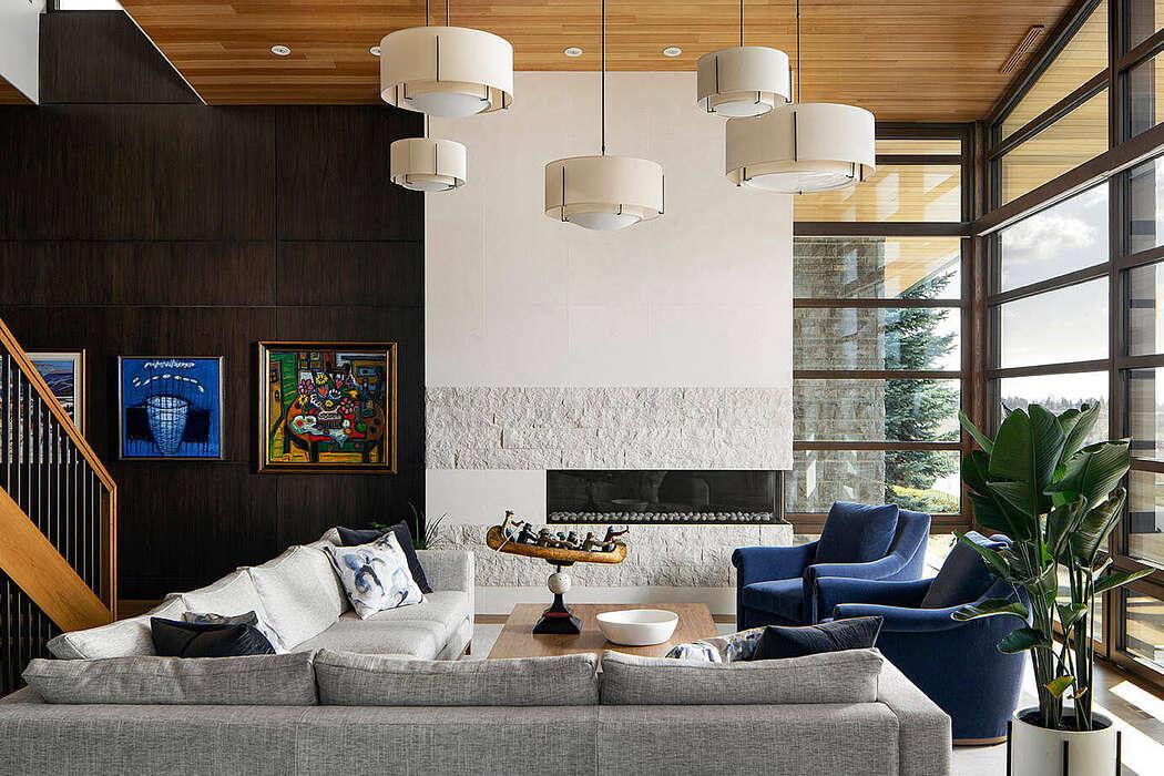 Mount Royal Contemporary by Bruce Johnson & Associates Interior Design