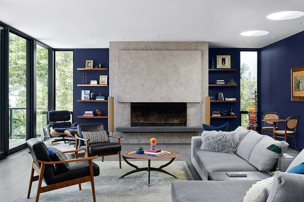 Mid-Century Remodel by Amy Friedberg Design