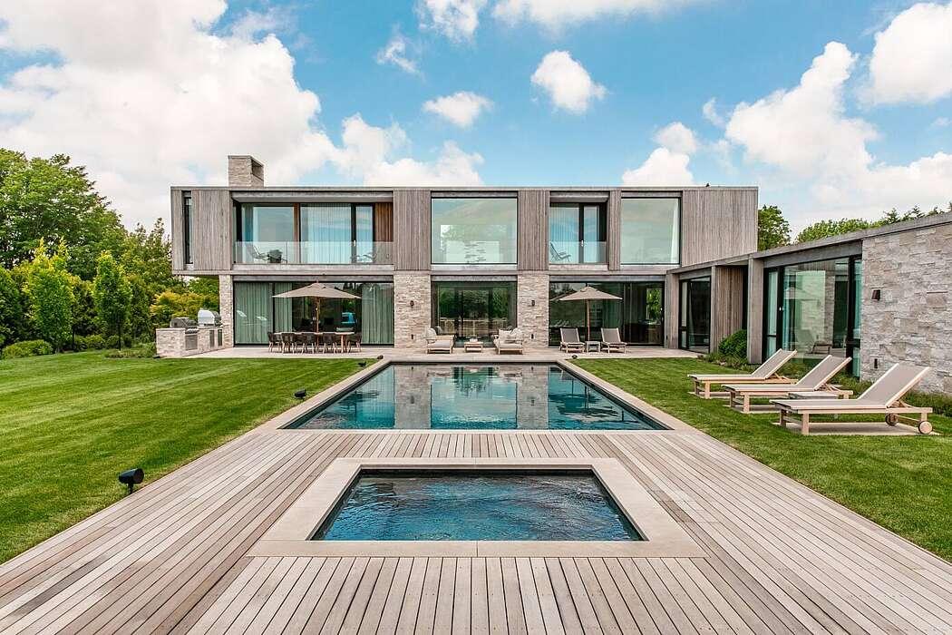 Modern Estate by Kevin O'Sullivan + Associates