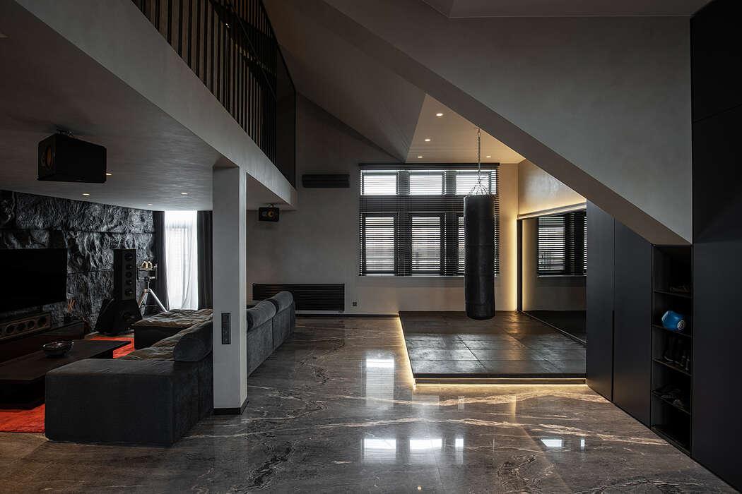 Two Level Penthouse by Kupinskiy & Partners