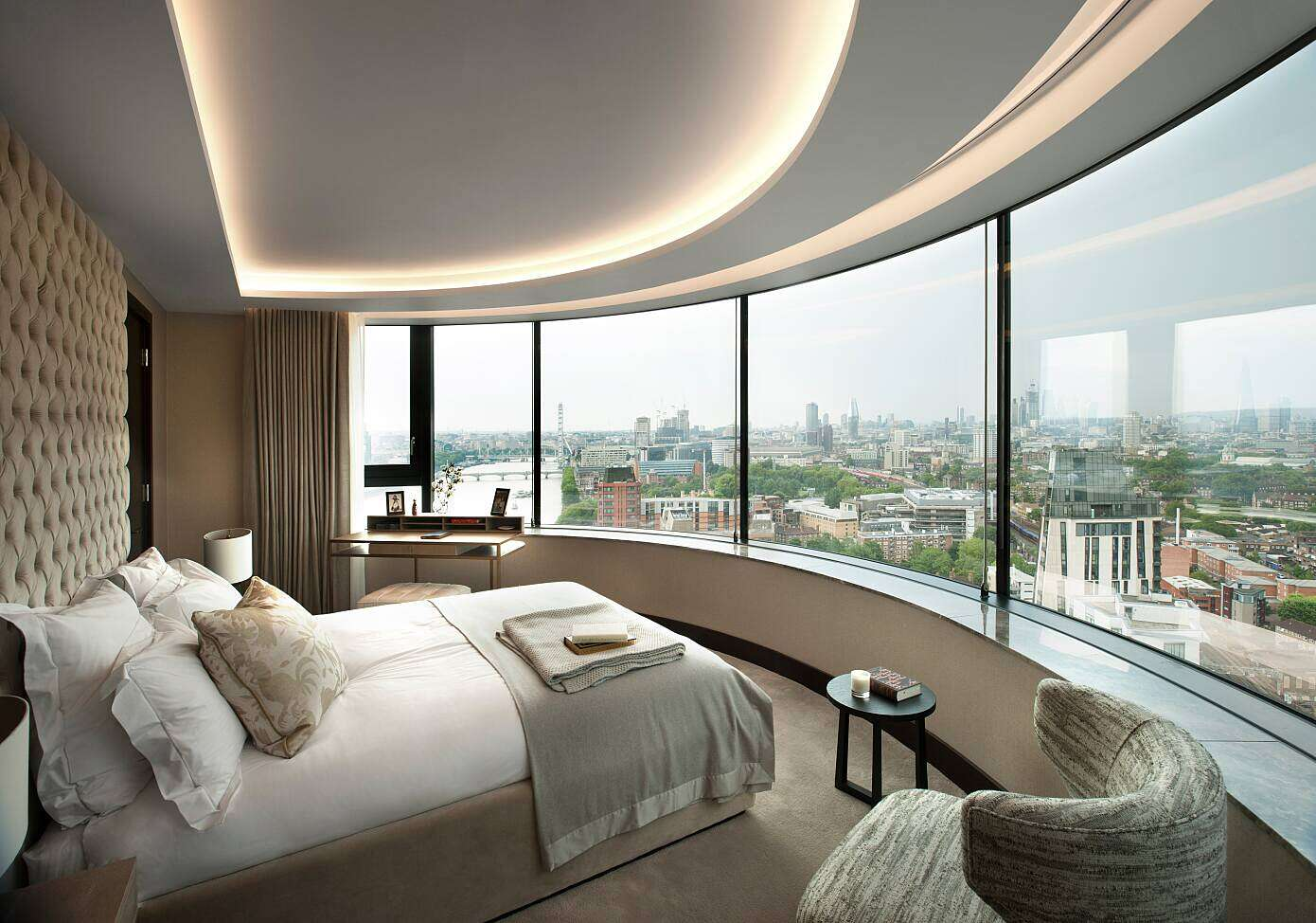 Corniche Penthouse By Tg Studio Homeadore
