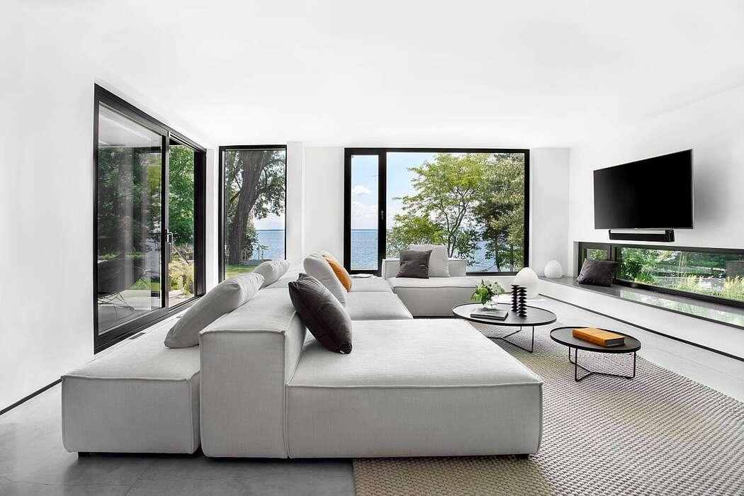 West Island Lake House by Kelli Richards Designs