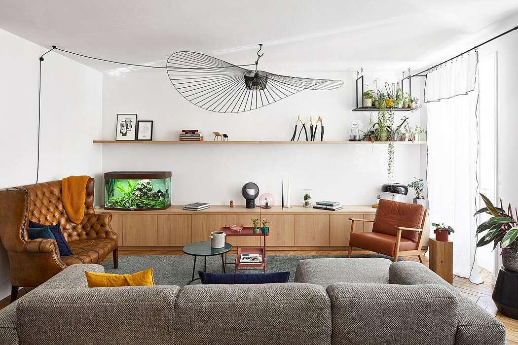 Apartment in Paris by blackStones