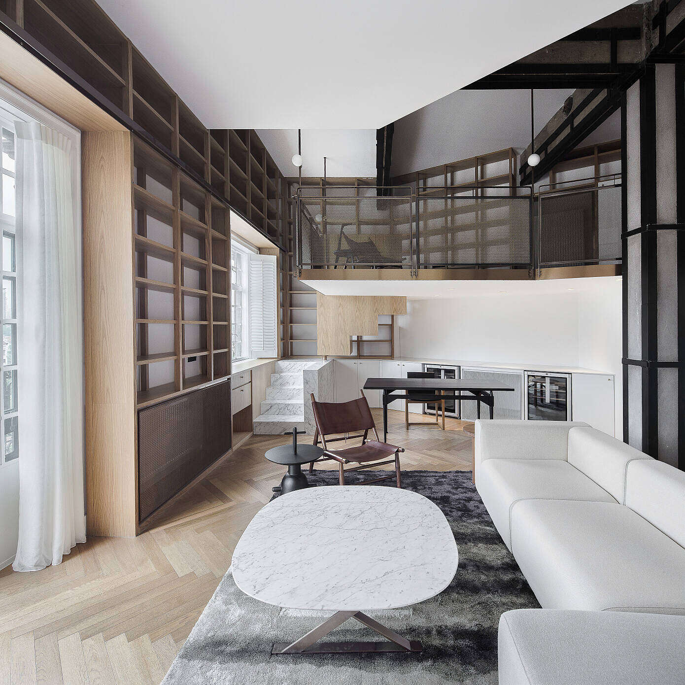 Library Home by Atelier Tao+C