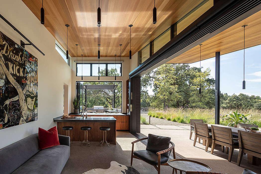Napa Pool House by Bevan + Associates