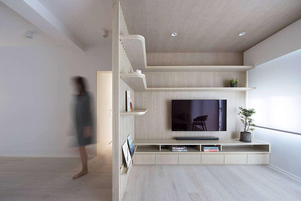 Urban Cocoon Apartment by Bean Buro