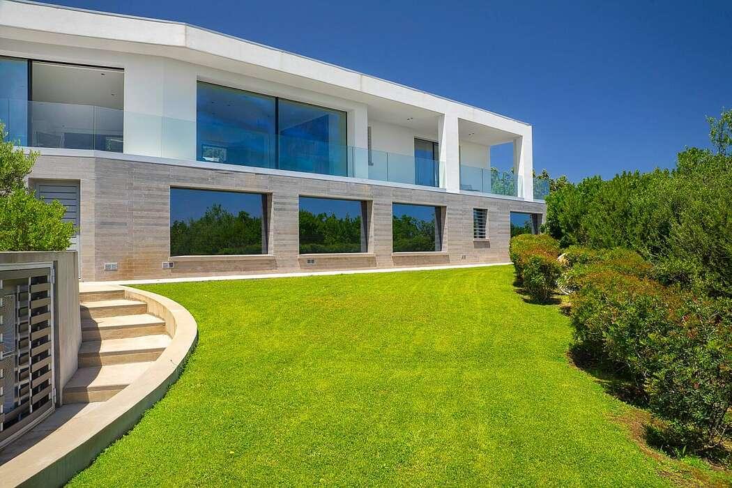 Mediterranean villa in Italy