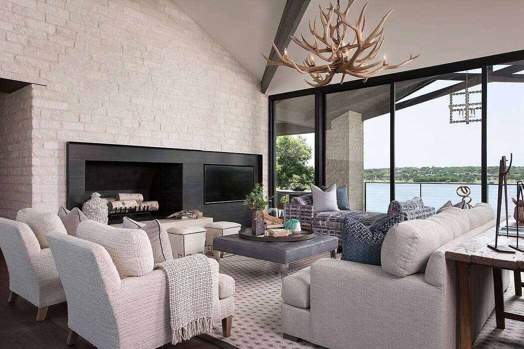 Lake Travis Home by Glynis Wood Interiors