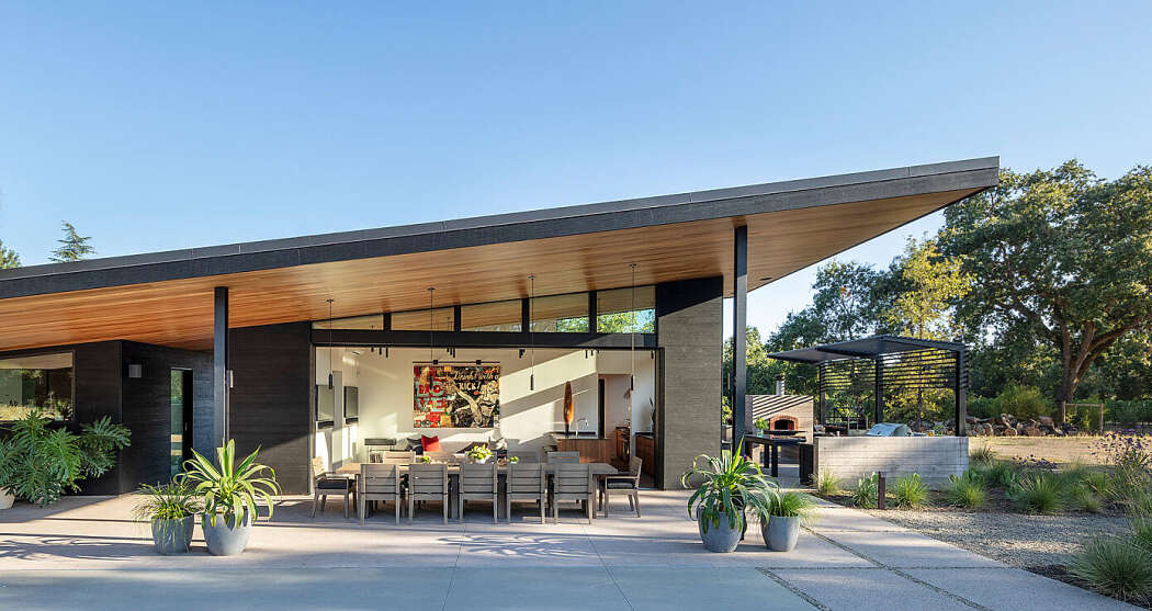 Napa Pool House by Bevan + Associates