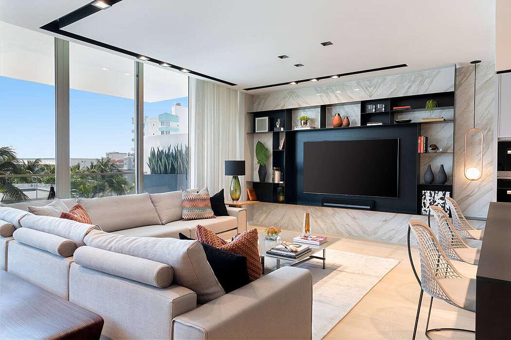Miami Beach Home by 2id Interiors