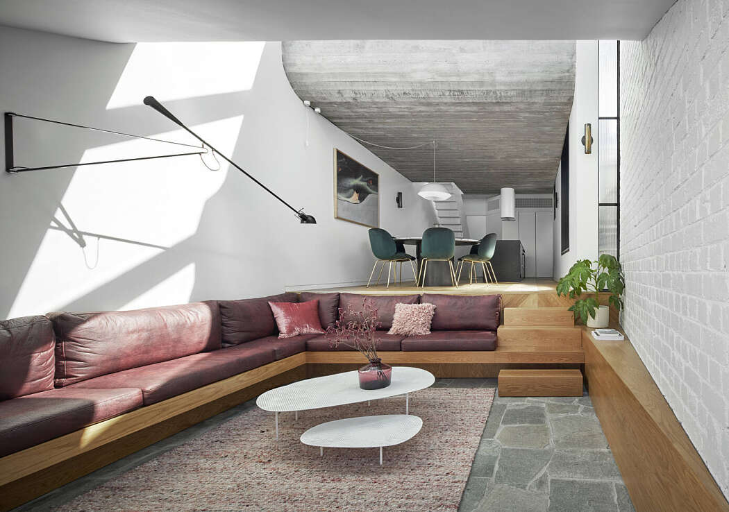 Fitzroy Terrace House by Taylor Knights