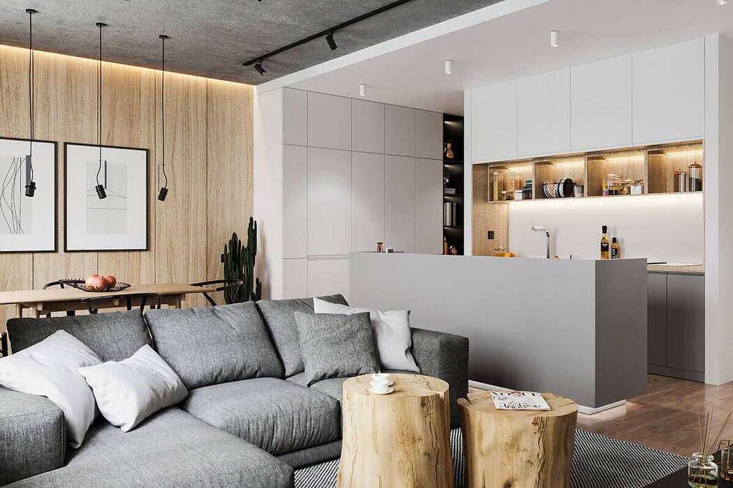 Modern Apartment by Bellas Artes