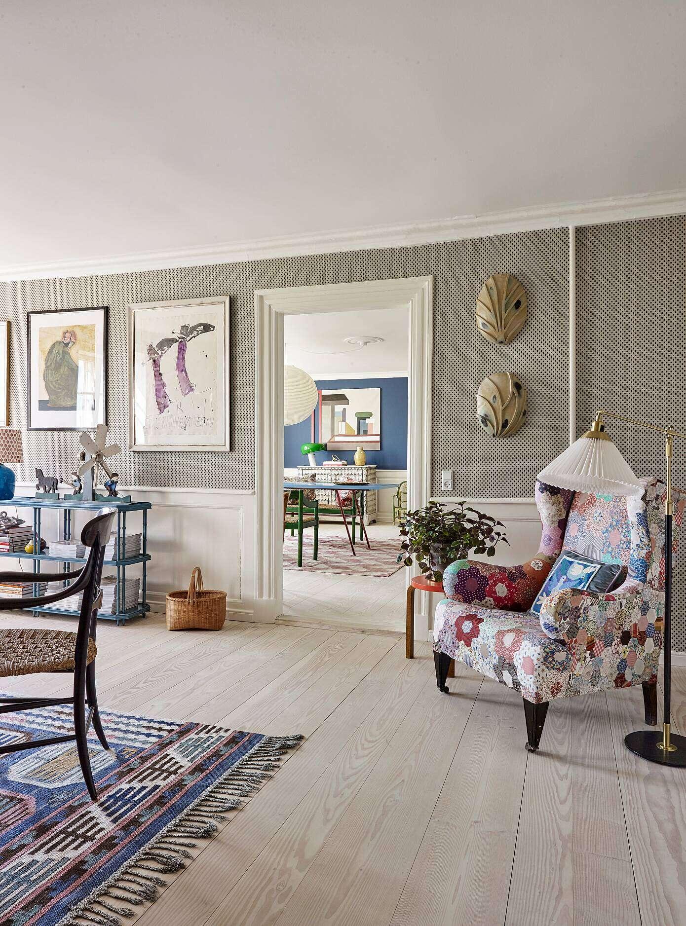 Apartment in Copenhagen by Tina Seidenfaden Busck