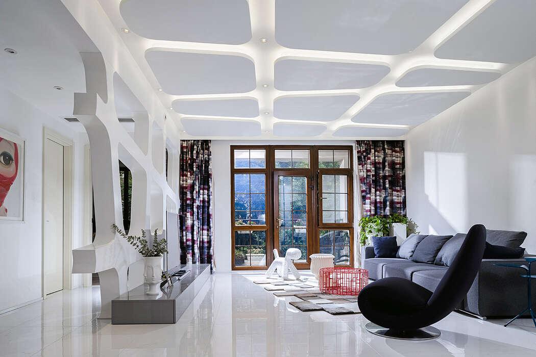 Runze Shujun Villa by GU Hao Design