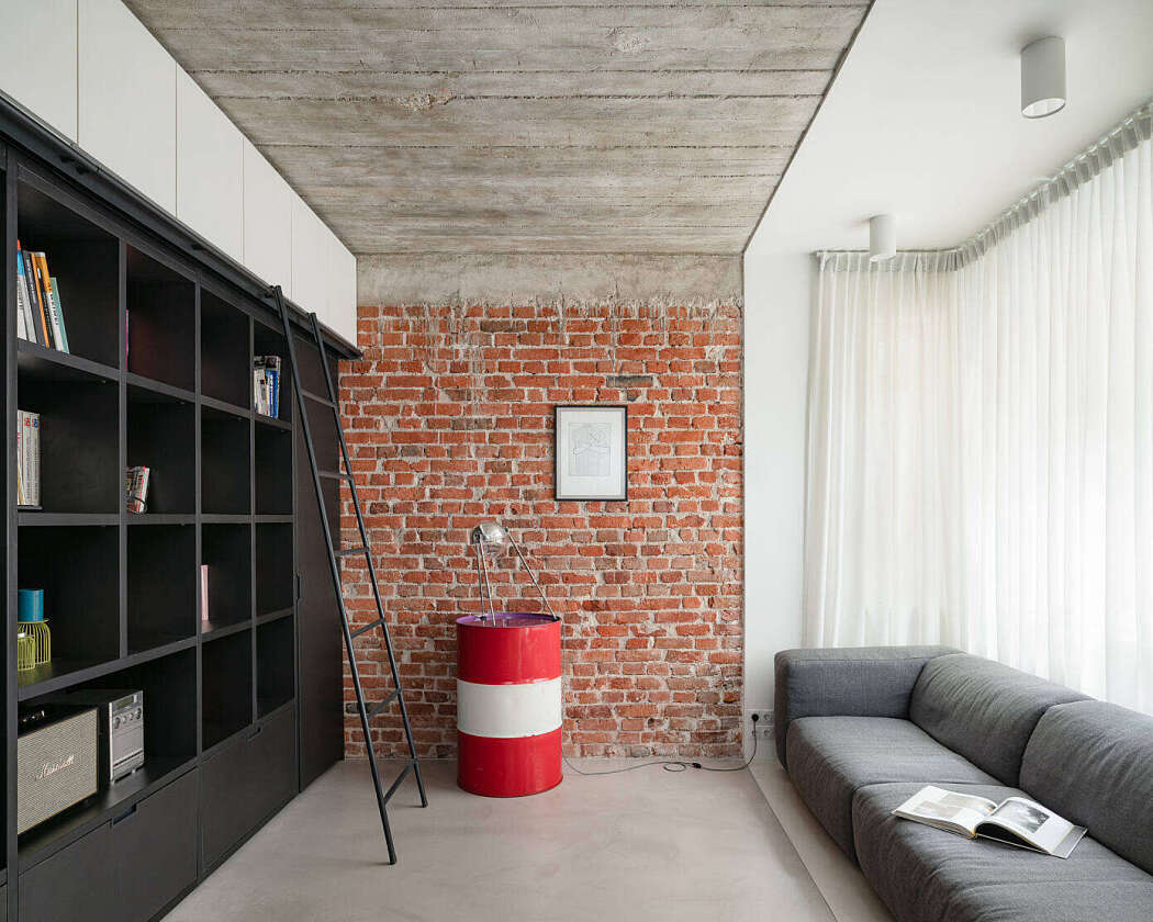 Industrial Style Apartment Architecture And Design