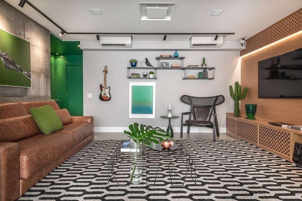 Apartment Oca by Beatriz Quinelato Arquitetura