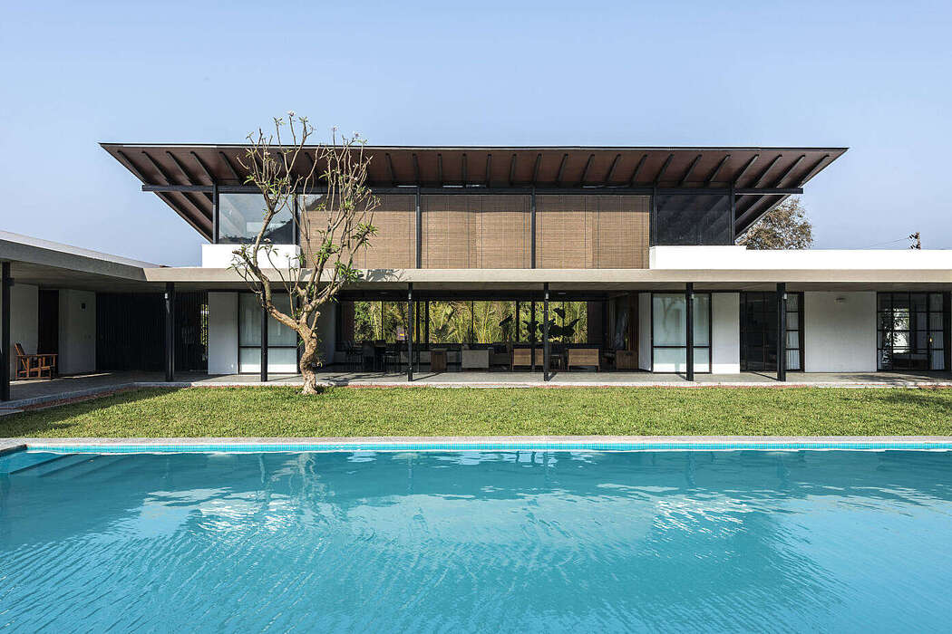 Twin Houses by Spasm Design Architects
