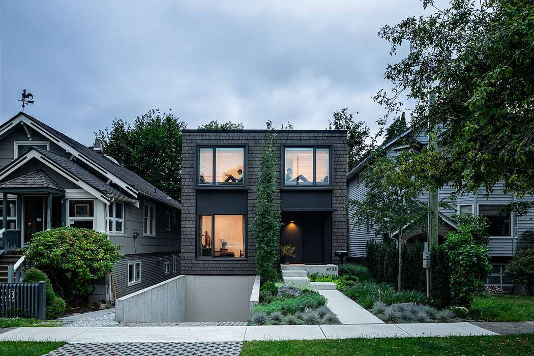 House With Two Bay Windows By D Arcy