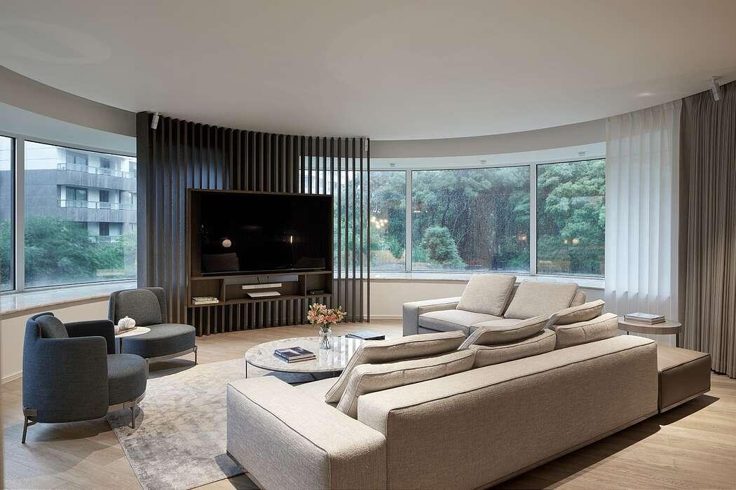 Skyline Apartment by Bylu Design