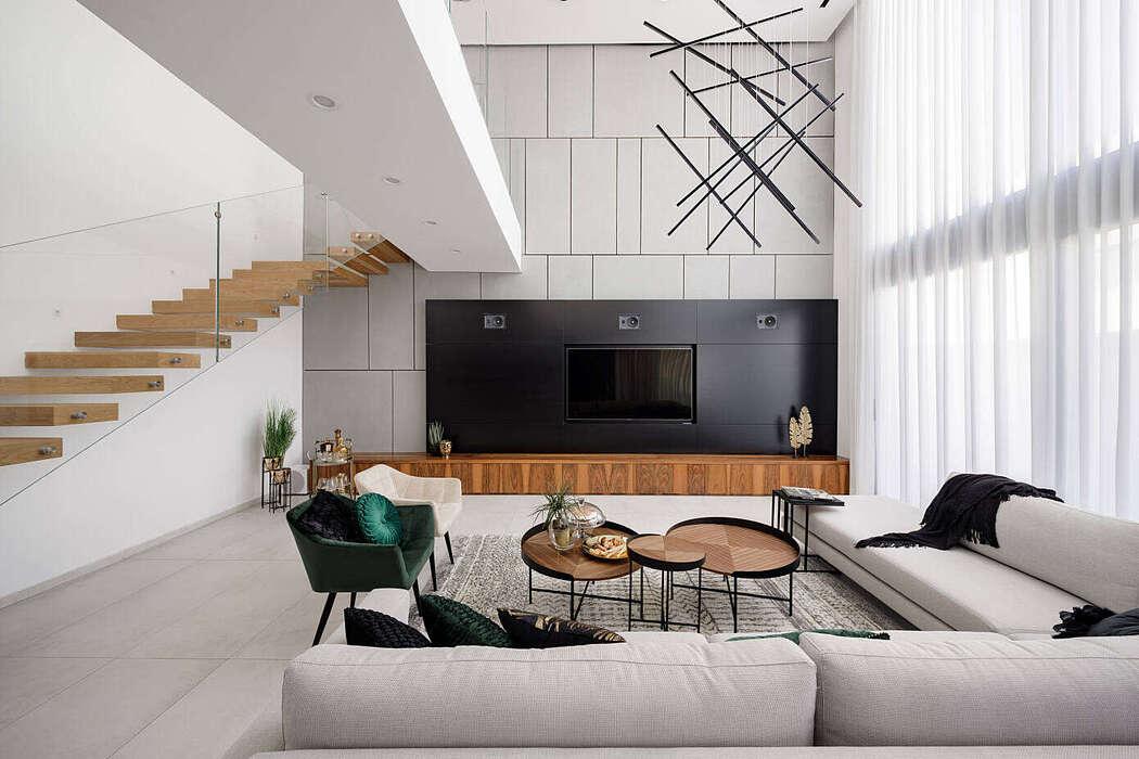 Elegant house by T.Z.F Architecture Studio