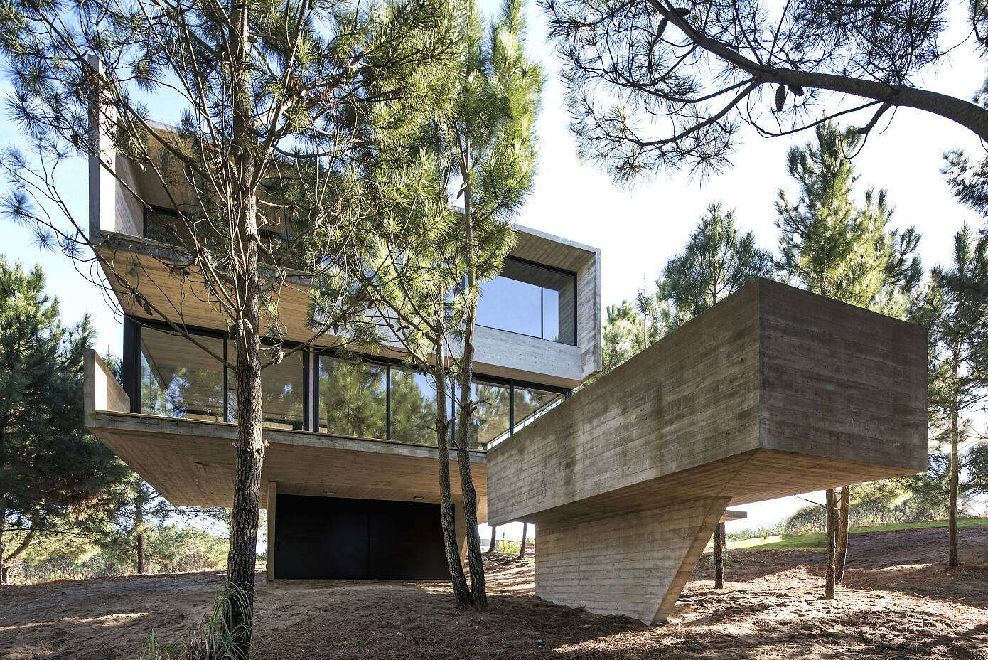 House in the Trees by Luciano Kruk Arquitectos