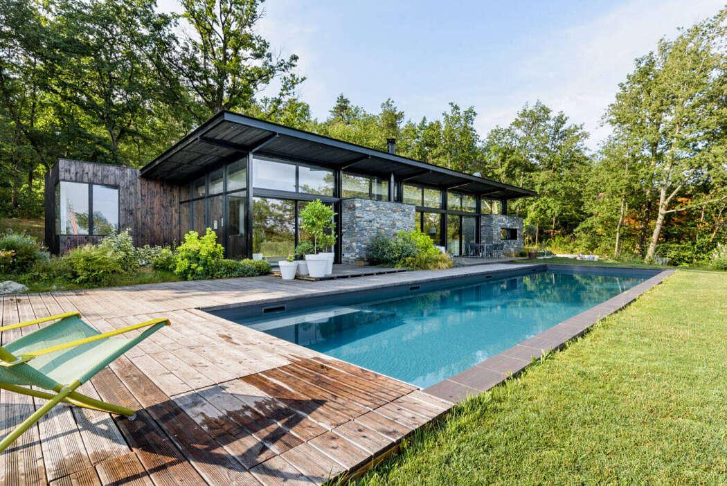 Villa A & L by Atelier d'Architectes Associés