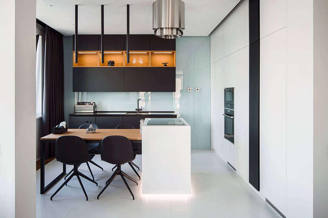 Riverstone Apartment by Ilya Taslitskiy