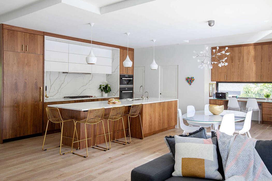 Mid Century Modern Home by Devise Design